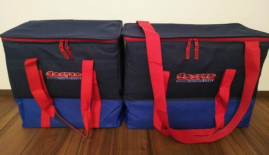 コストコクーラーバッグは2サイズ