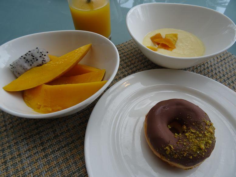 朝食時のデザート