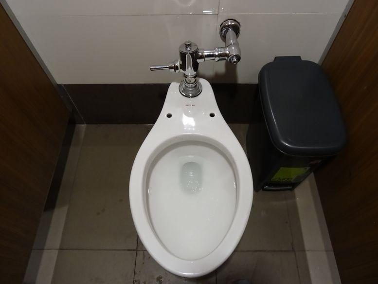 セブのトイレに便座が無い