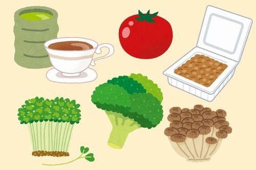 AGEsを減らす食品