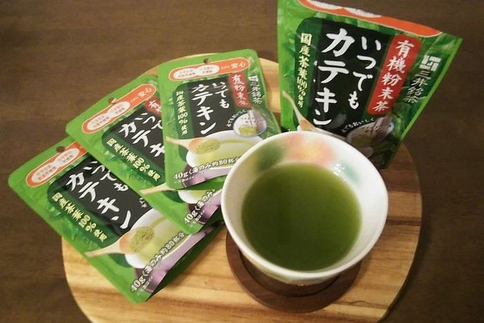 三井銘茶 有機粉末茶 いつでもカテキン