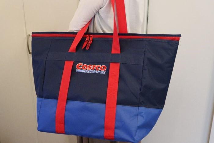 コストコの保冷バッグをトートバッグにリメイク
