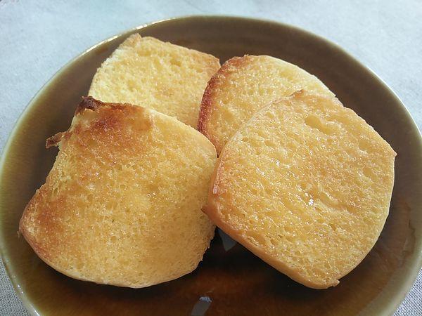 コストコのディナーロールでフレンチトースト