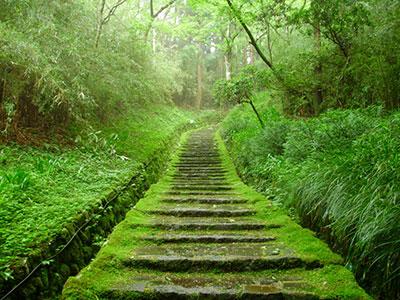 恩賜箱根公園 二百階段