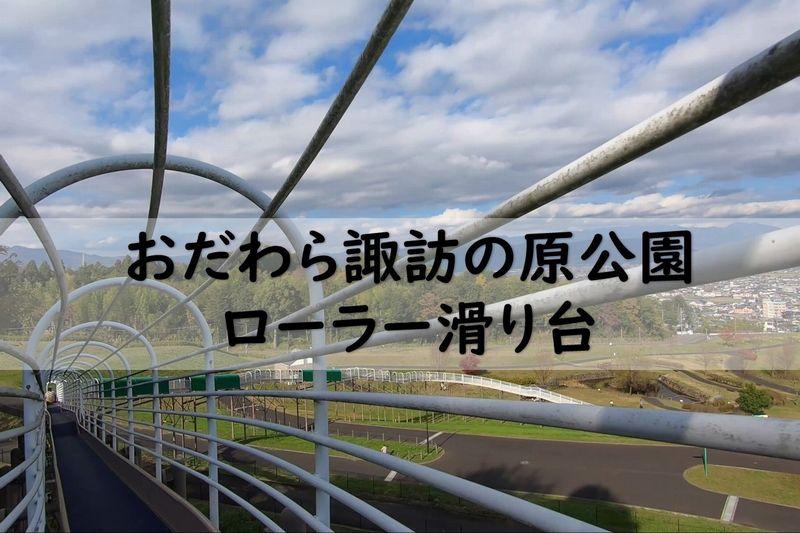 おだわら諏訪の原公園 ローラー滑り台 動画