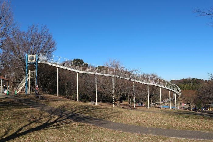 茅ヶ崎里山公園 ローラー滑り台