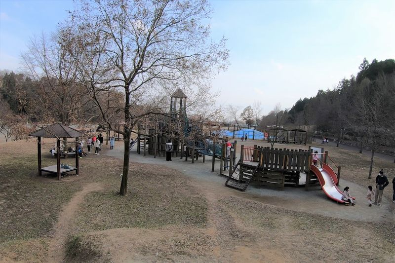 秦野戸川公園 子供の広場