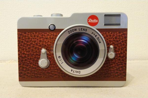 カルディ カメラ缶チョコレート