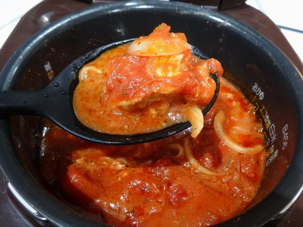 カルディ トマト煮込みシーズニング 炊飯器
