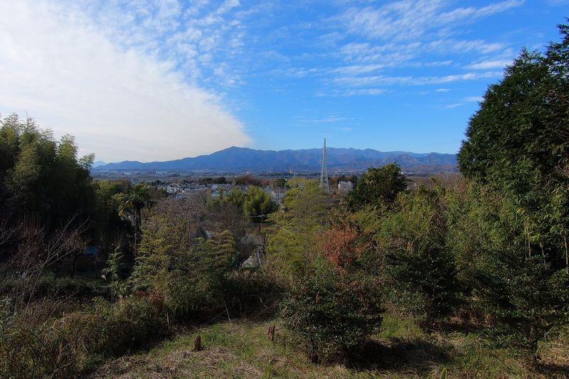 座間谷戸山公園 伝説の丘