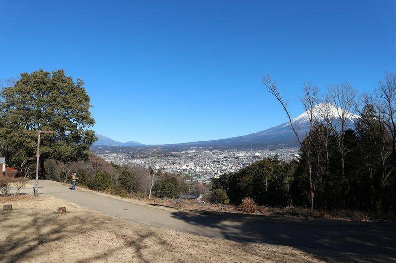 白尾山公園 富士山 眺望